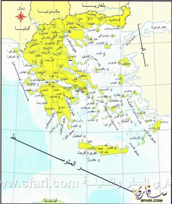 أثينا خريطة خرائط أثينا اليونان 4